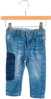 Little Marc Jacobs Girls' Faded Wash Straight-Leg Jeans