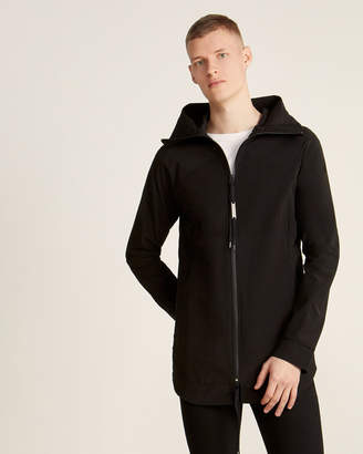Army Of Me Black Hooded Full-Zip Rain Jacket