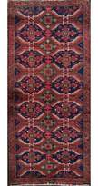 Blue Area One-of-a-Kind Runner Hand-Knotted 2' 4'' X 5' 1'' Wool Navy Rug Isabelline
