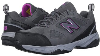 New Balance 627v2 (Grey/Pink) Women's Cross Training Shoes