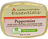 Clearly Natural Natural Glycerine Bar Soaps Peppermint 4 oz. - 3PC
