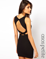 Asos Exclusive Body-Conscious Dress With Low Cross Back