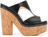Jimmy Choo Nixie 120 mule sandals - women - Calf Leather/rubber - 36
