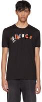 Dolce & Gabbana Black Prince Collage T-Shirt
