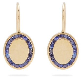 Jessica Biales - Candy Sapphire & Yellow-gold Earrings - Womens - Blue