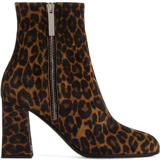 Giuseppe Zanotti Sveva 80mm leopard-print boots