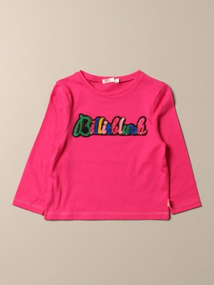 Billieblush T-shirt With Multicolor Logo