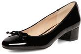 Dorothy Perkins Black Ballerina Block Heel Pumps