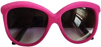 Italia Independent Pink Other Sunglasses
