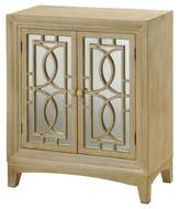 Stylecraft Two Door Weathered Wood Cabinet - Antique Bisque