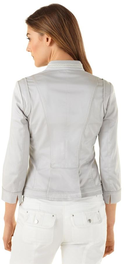 White House Black Market Cutaway Cropped Jacket