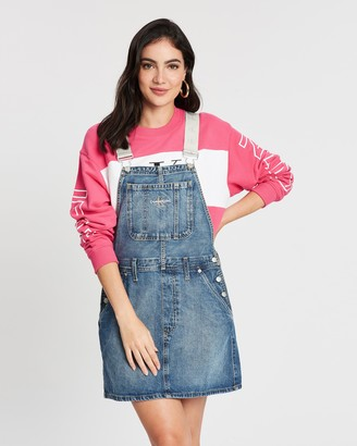 Calvin Klein Jeans Iconics Dungaree Dress