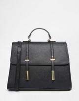 Asos Tab Front Satchel Bag