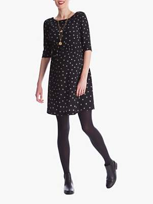 Séraphine Minnie Dots Maternity Dress, Black