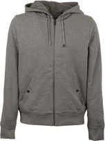 Michael Kors Grey Kangaroo Pockets Hoodie