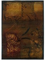 Sphinx by Oriental Weavers 748679159000 Kharma II 9.75 ft. x 12.17 Casual Rug - Brown and Gold