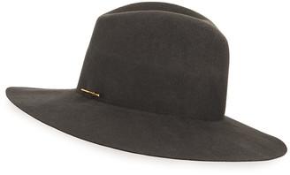 Janessa Leone Celeste Wool Cowboy Hat