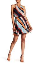 Amy Byer A. Byer Striped Fit & Flare Dress