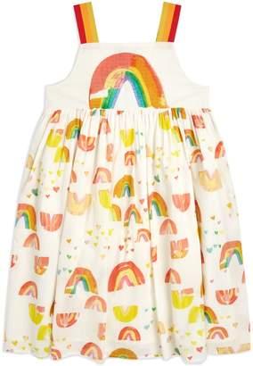 Stella McCartney Rainbow Print Dress