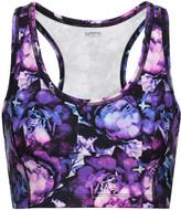 Yummie by Heather Thomson Printed stretch-cotton sports bra