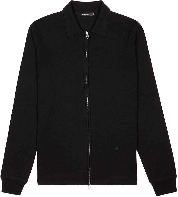60897b4a7 Nyle Black Wool Jumper