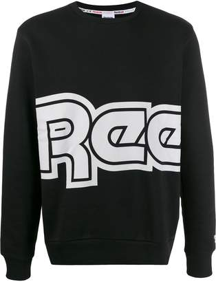 Reebok retro logo print sweatshirt