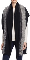 UGG Luxe Scarf with Shearling Sheepskin