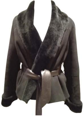 Daks London Black Suede Jacket for Women