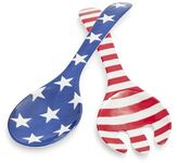 Sur La Table Stars and Stripes Melamine Servers, Set of 2
