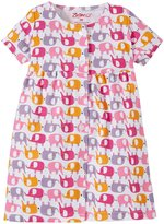 Zutano Ellas Elephants Dress (Baby) - White - 24 Months