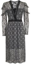 Topshop Lace midi dress