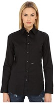 DSQUARED2 Classic One Button Shirt Women's Long Sleeve Button Up