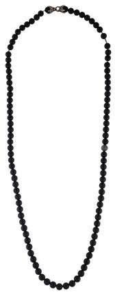 David Yurman Onyx & Diamond Spiritual Bead Necklace