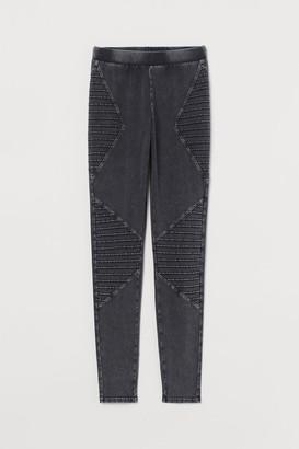 H&M Biker Leggings - Gray