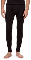 Maine New England Black Long Thermal Leggings