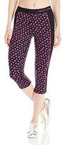 Juicy Couture Black Label Women's Compression Crop Leggings