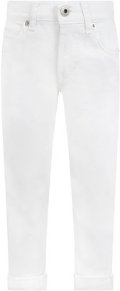 Dondup White george Jeans For Boy