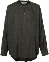 Robert Geller plain shirt - men - Cupro - 44