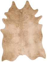 "Loloi Rugs Grand Canyon Faux Cowhide Area Rug by Loloi, Tan, 3'10""x5'"