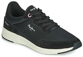 Pepe Jeans JAYKER BASIC men's Shoes (Trainers) in Black
