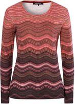 Olsen Wave stripe T-shirt