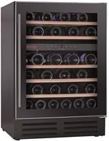 Baumatic BWC605SS 46 Bottle Built-in Wine Cooler - Black