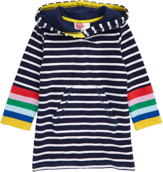 Boden Mini Stripe Terry Cloth Throw-On Beach Cover-Up