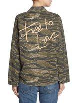 Current/Elliott Camo Army Jacket