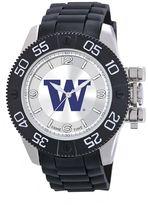 Game Time Beast Series Washington Huskies Stainless Steel Watch - COL-BEA-WAS - Men