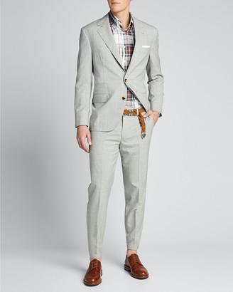 Brunello Cucinelli Men's Solid Wool Two-Piece Suit