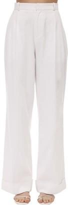 ÀCHEVAL PAMPA Gardel Cotton Satin Pants