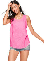 PINK Strappy Tie-Back Tank
