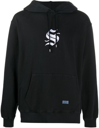 Stampd Logo Embroidered Hoodie