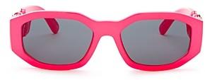 Versace Women's Geometric Sunglasses, 53mm